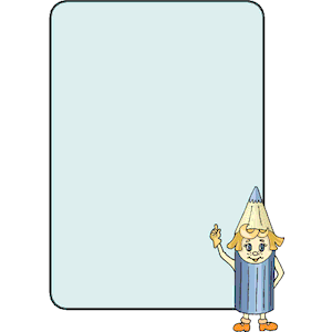 Pencil clipart photo frame Frame formats cliparts download Pencil