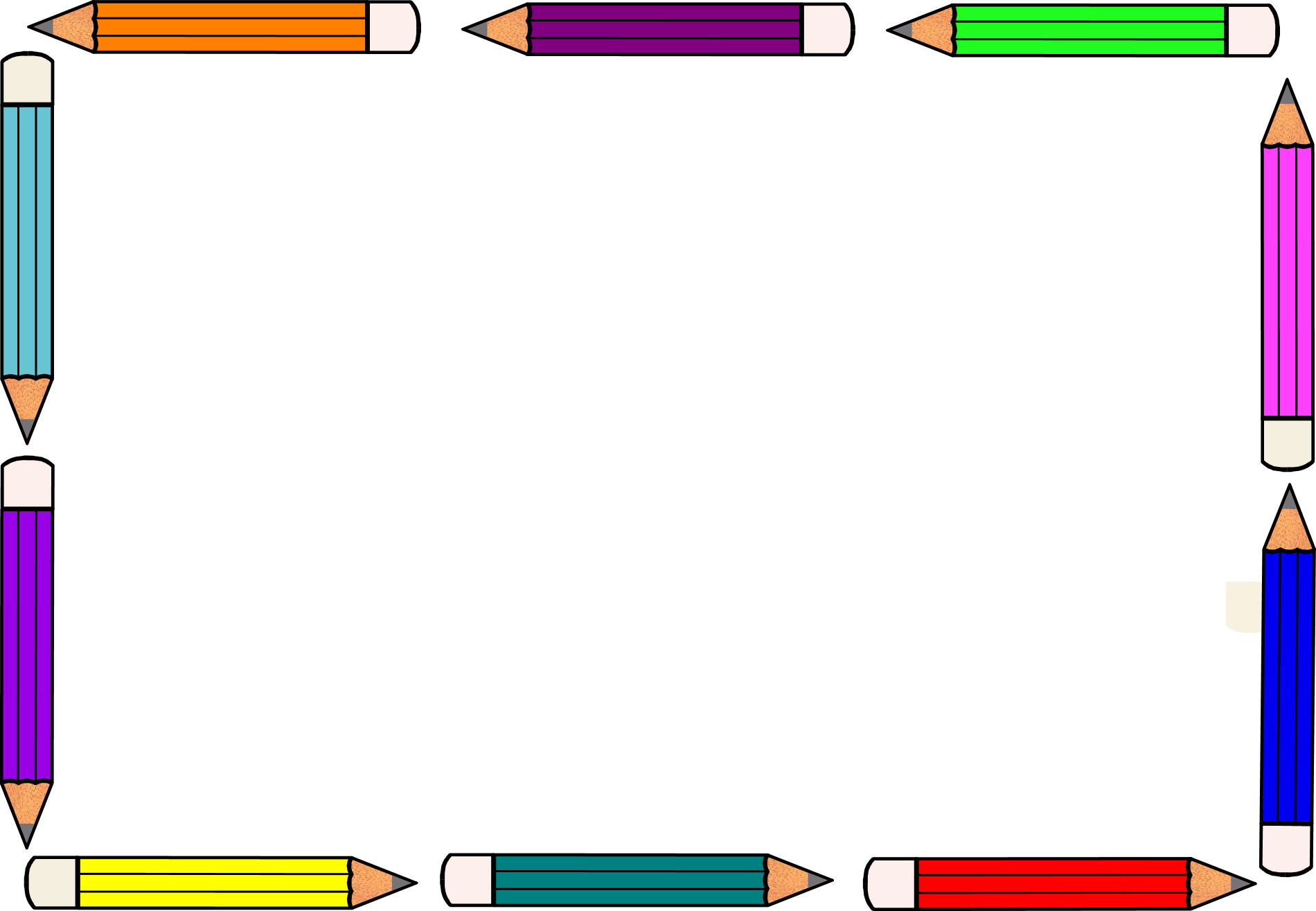 Notebook clipart border Cliparts Cliparts Zone Pencil clipart
