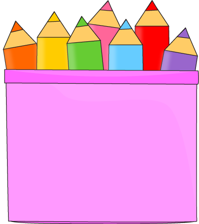 Crayon clipart color pink Art Free clipart Art Free