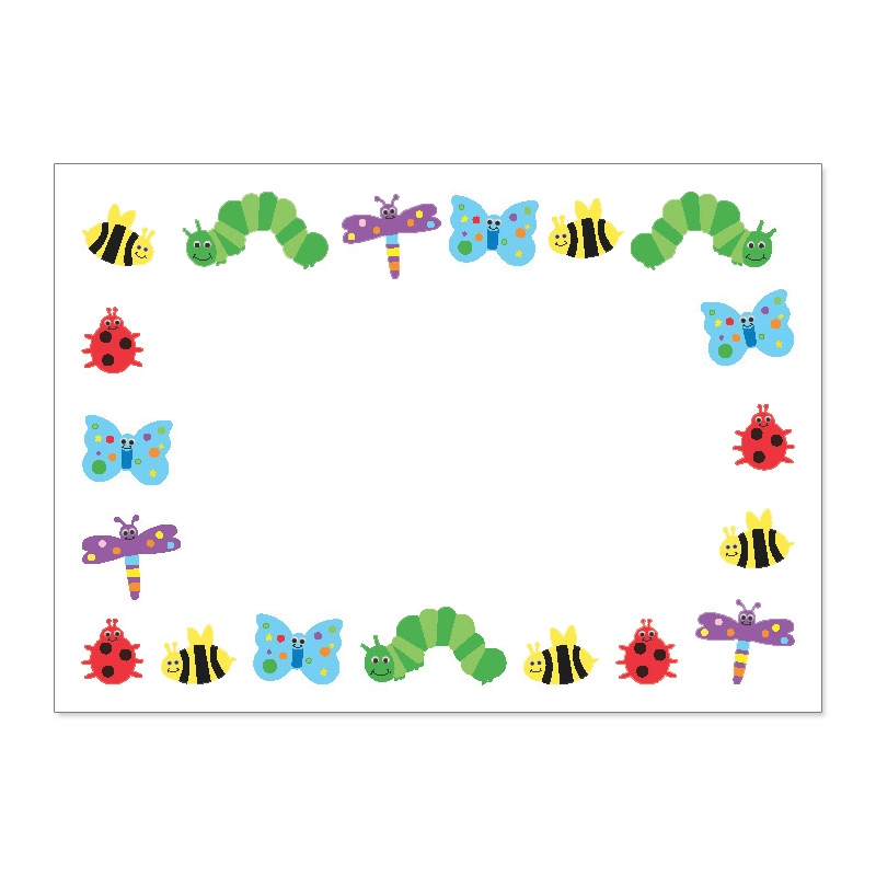Bugs clipart border Free Frames And Clipart Clipart