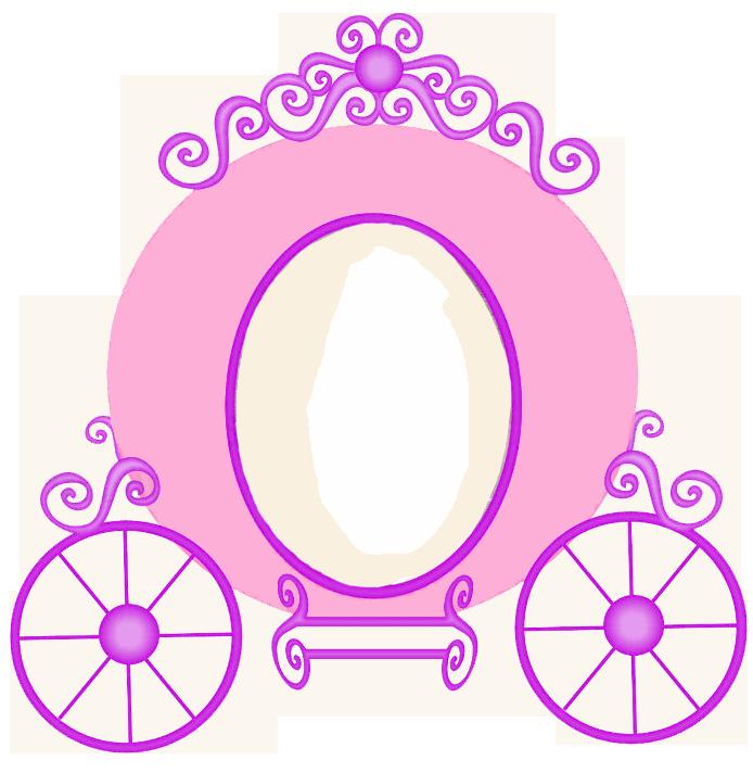 Cart clipart princess Princess Clip cliparts Vectors frame