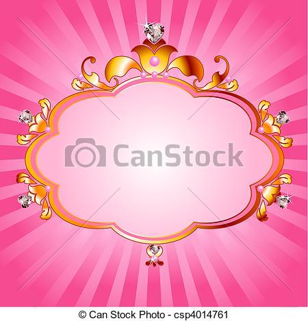 Frame clipart princess Lovely of Art Princess frame