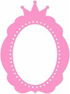 Frame clipart princess Visit frame Pinterest crown for