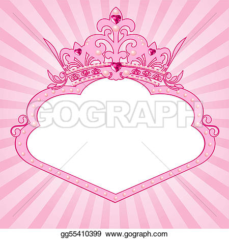 Frame clipart princess GoGraph Clip Princess Art ·