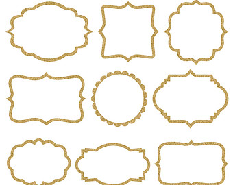 Frame clipart quatrefoil Backgrounds Frames sugarstudios INSTANT Digital