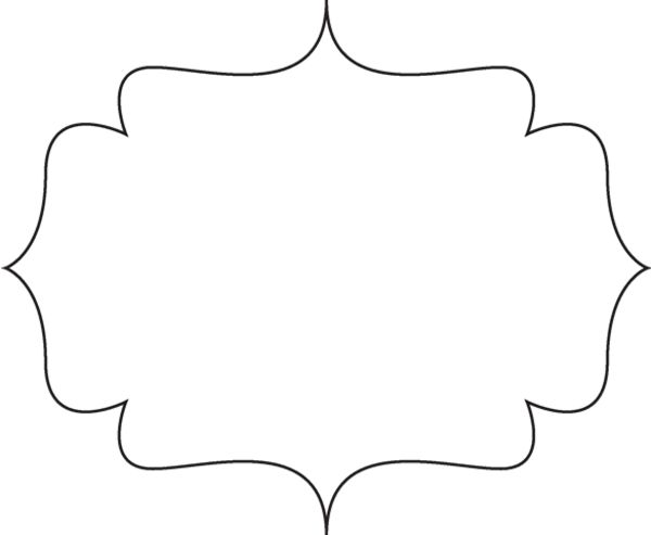 Frame clipart quatrefoil On free Cake Scrolls about