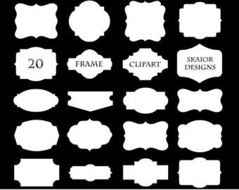 Frame clipart quatrefoil Clip Logo White Greek Frames