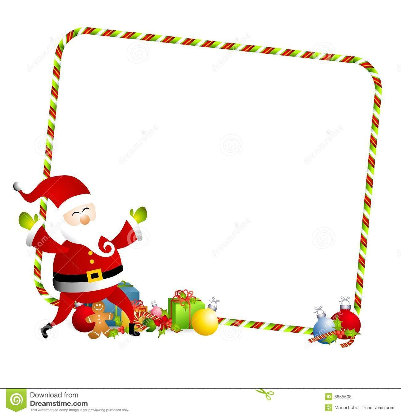 Frame clipart santa claus Images Border christmas%20present%20border%20clipart Clipart Clipart