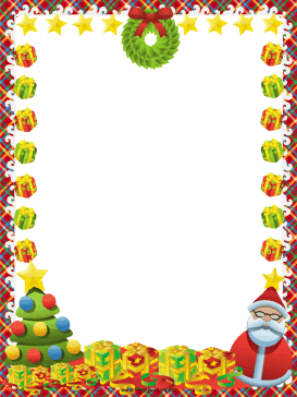 Frame clipart santa claus Free Christmas Christmas This includes