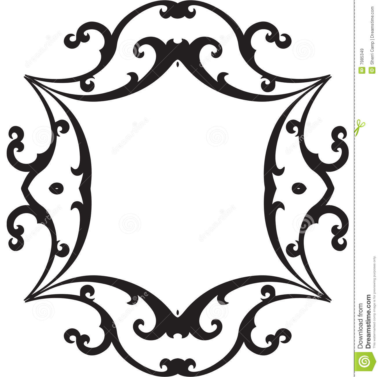 Frame clipart scrollwork Scroll Border Images Art scroll%20border%20clip%20art