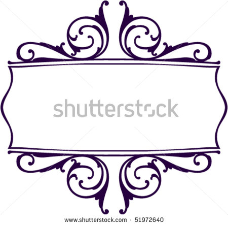 Decoration clipart decorative scrolling Free Borders Clipart Images Clip