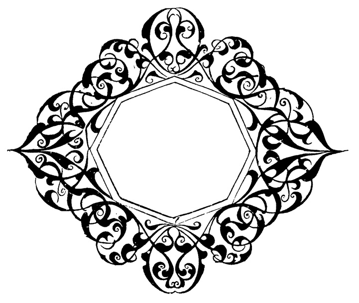 Classic clipart scrollwork #8
