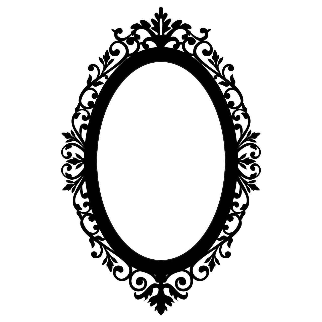 Mirror clipart baroque frame Oval Pinterest Frame # Clipart