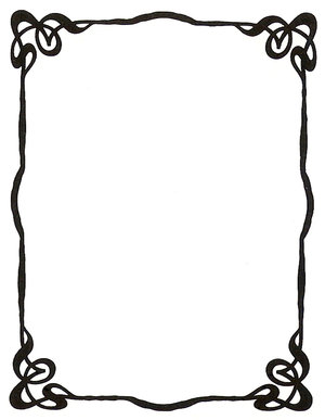 Simple clipart picture frame #4