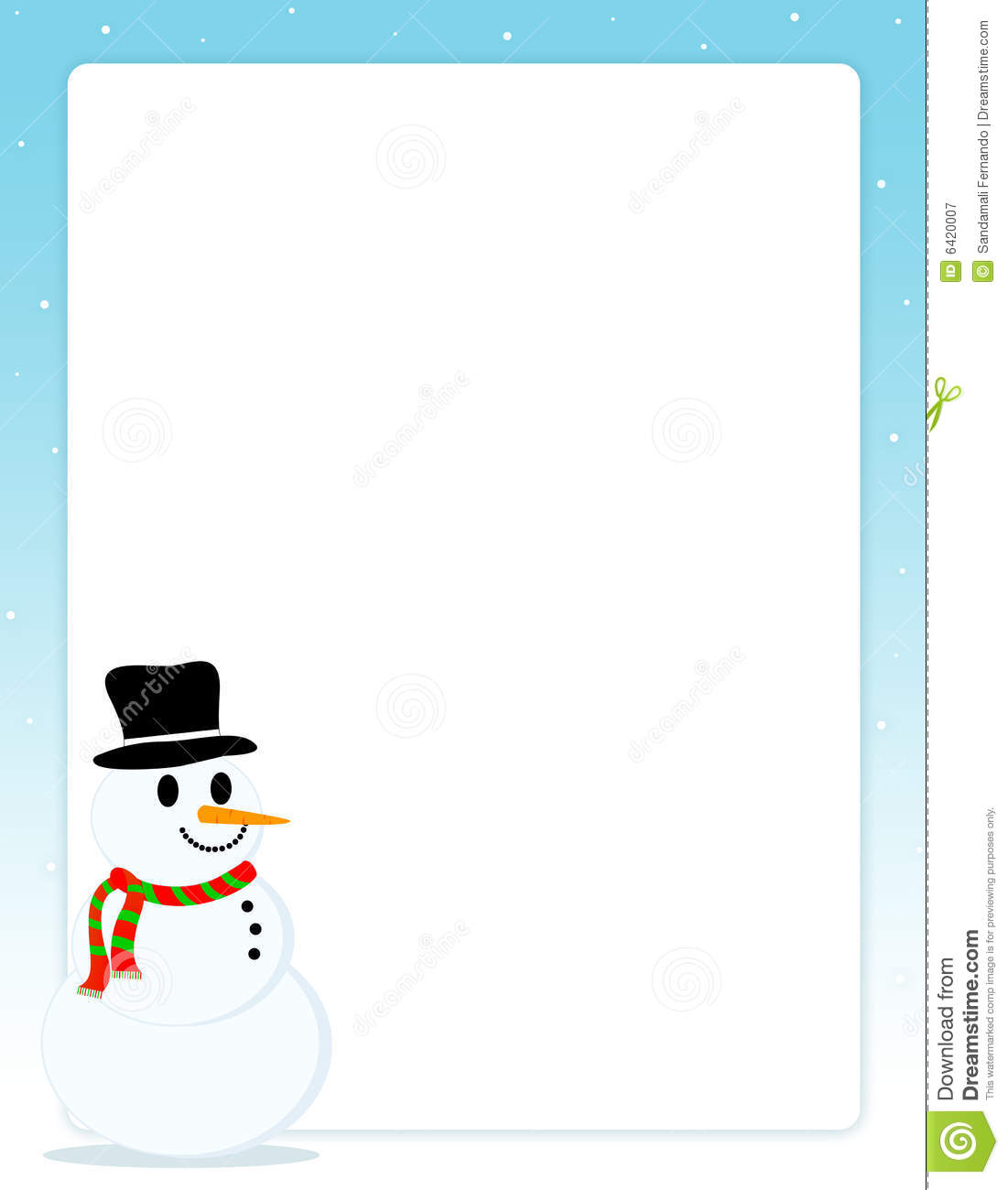 Frame clipart snowman Image Snowman China C6m3ud With
