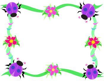 Beetles clipart lady beetle Panda Clipart Spring Free Flowers