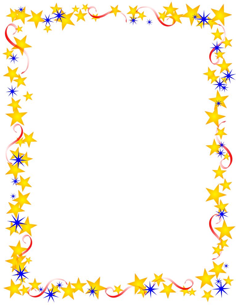 Frame clipart star Clip  yet themed can