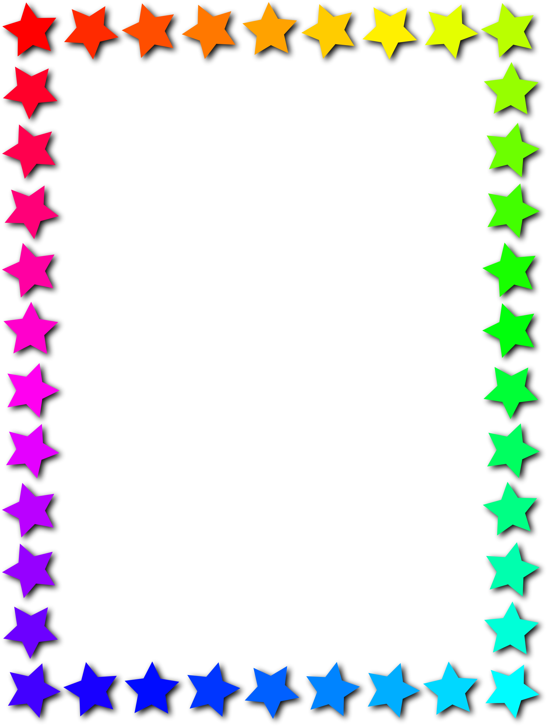 Frame clipart star 3 Star frame frame Clipart