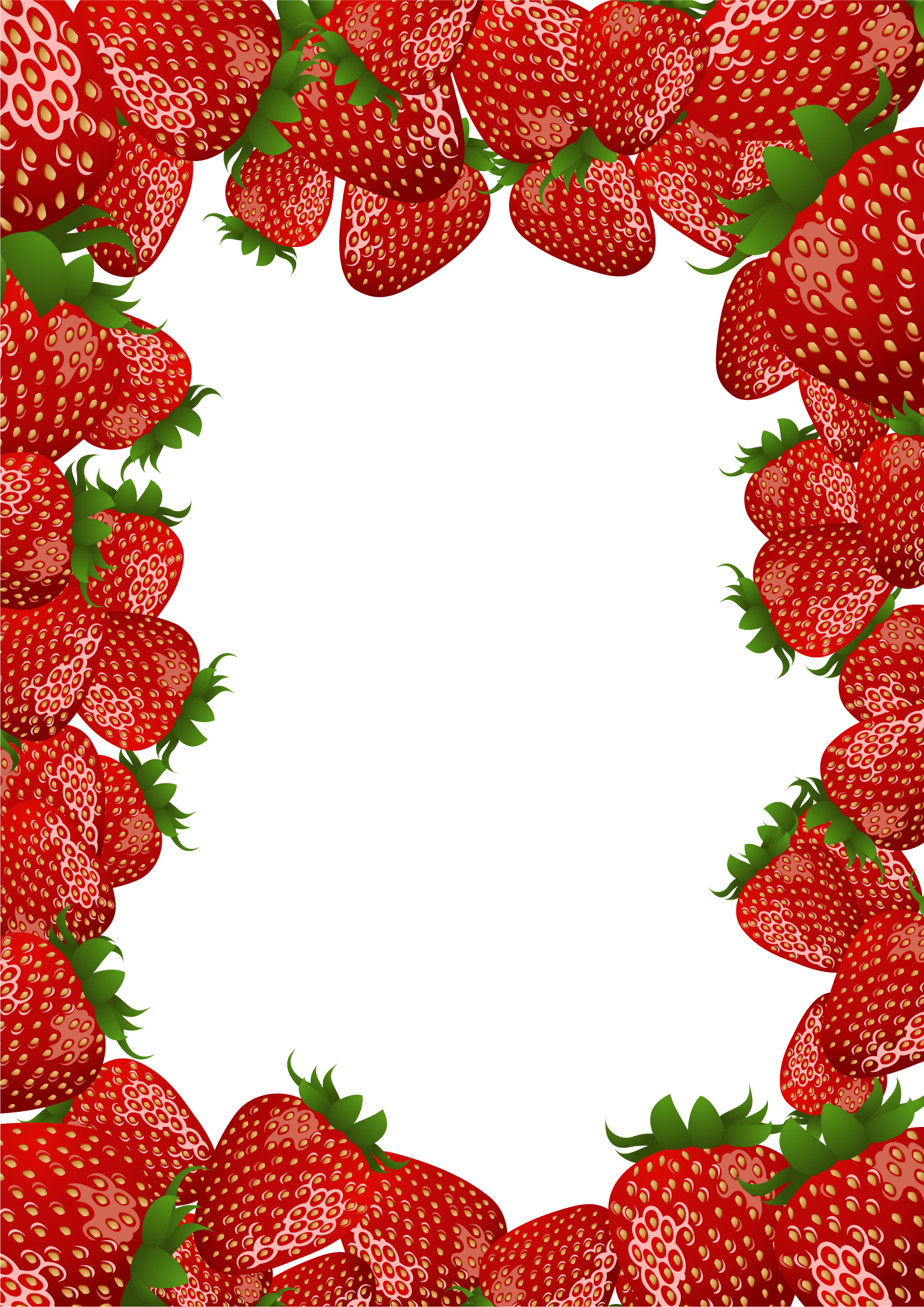 Frame clipart strawberry Strawberry by Frame flashtuchka Frame