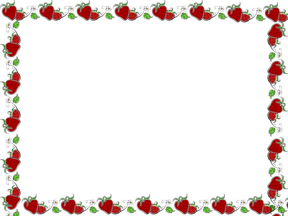 Frame clipart strawberry CLIPART AND border border Pinterest