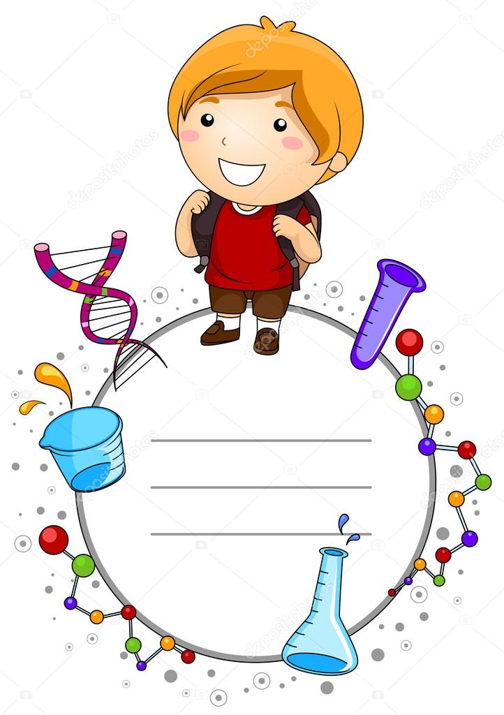 Frame clipart student By to and © Science