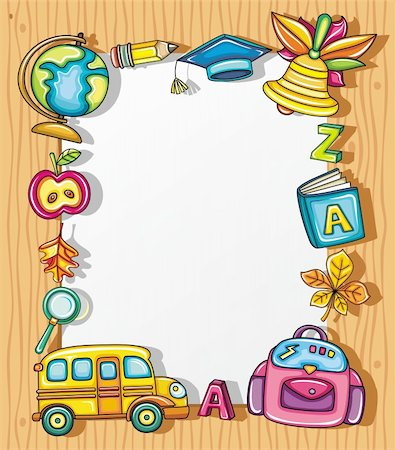 Frame clipart student Student isolated colorful 1 on
