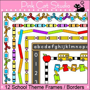 Frame clipart student On about 76 Education School
