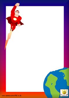 Frame clipart superhero The Superheroes and For