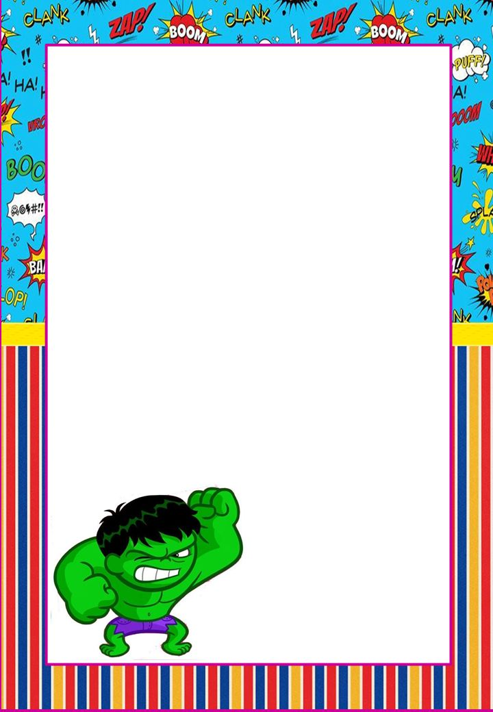 Frame clipart superhero & more Find borders images