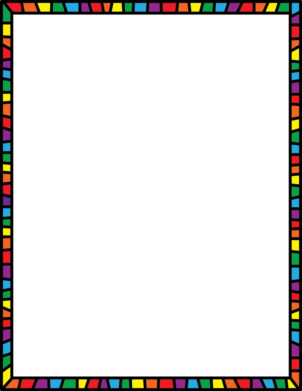 Crayon clipart page border Frame Teacher Will Make I