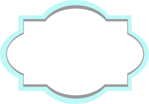 Frame clipart teal Grey And art vector clip