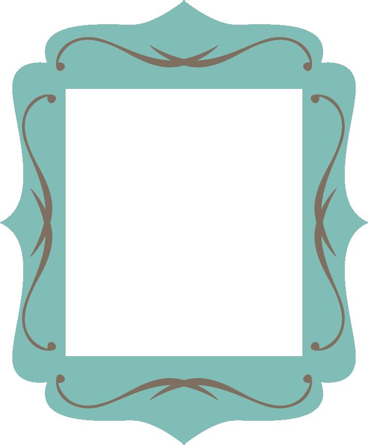 Frame clipart teal Clip Clipart frame%20clipart Clipart Art