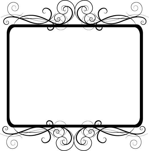 Frame clipart transparent background ClipArt!! design border Pinterest Google
