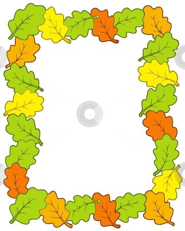Tree clipart frame #5
