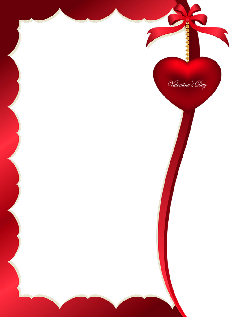Decoration clipart valentine's day Day Frame size for