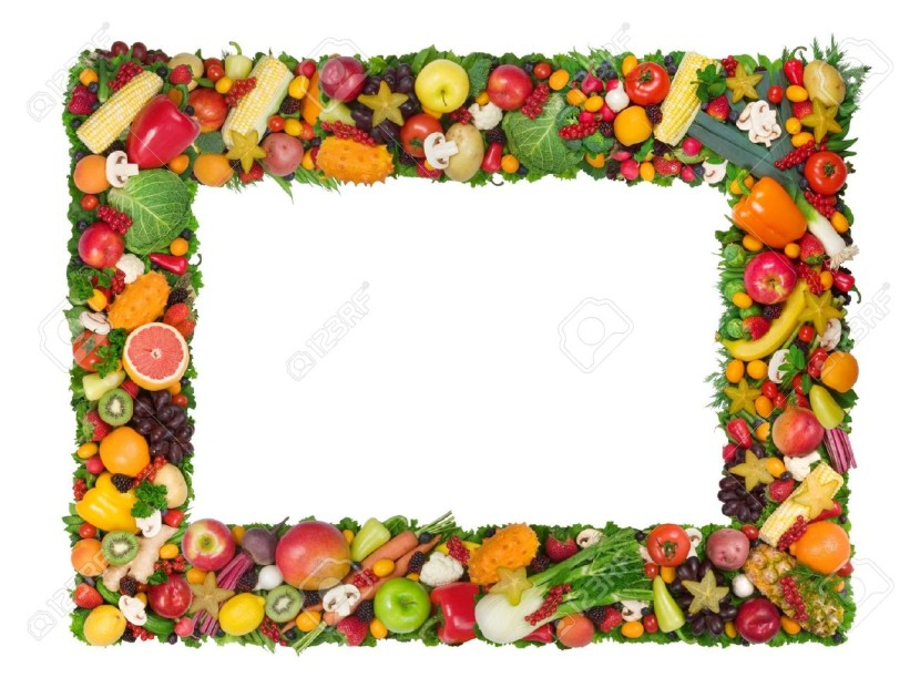 Vegetable clipart border Photo And #10359 Stock Vegetable