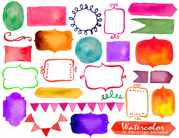 Frame clipart watercolor Clipart banner banner from Frames