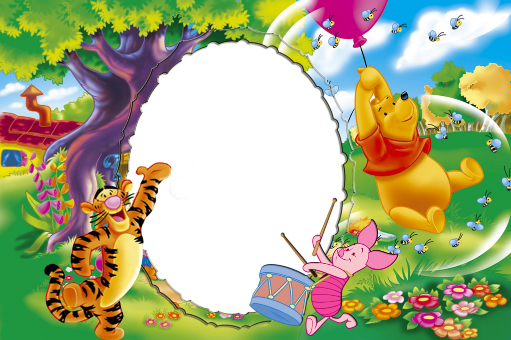 Frame clipart winnie the pooh The Gallery Winnie size High
