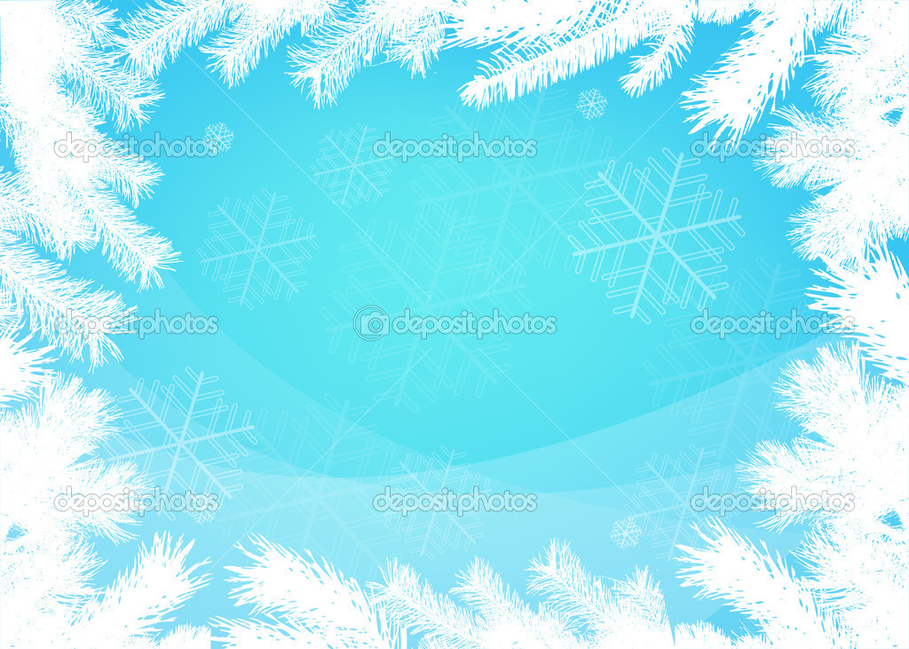 Frame clipart winter Winter Borders Winter Art Borders