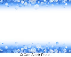 Winter clipart frame Clipart your with snowflakes winter