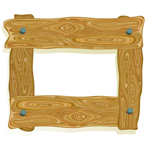 Planks clipart wood border #3