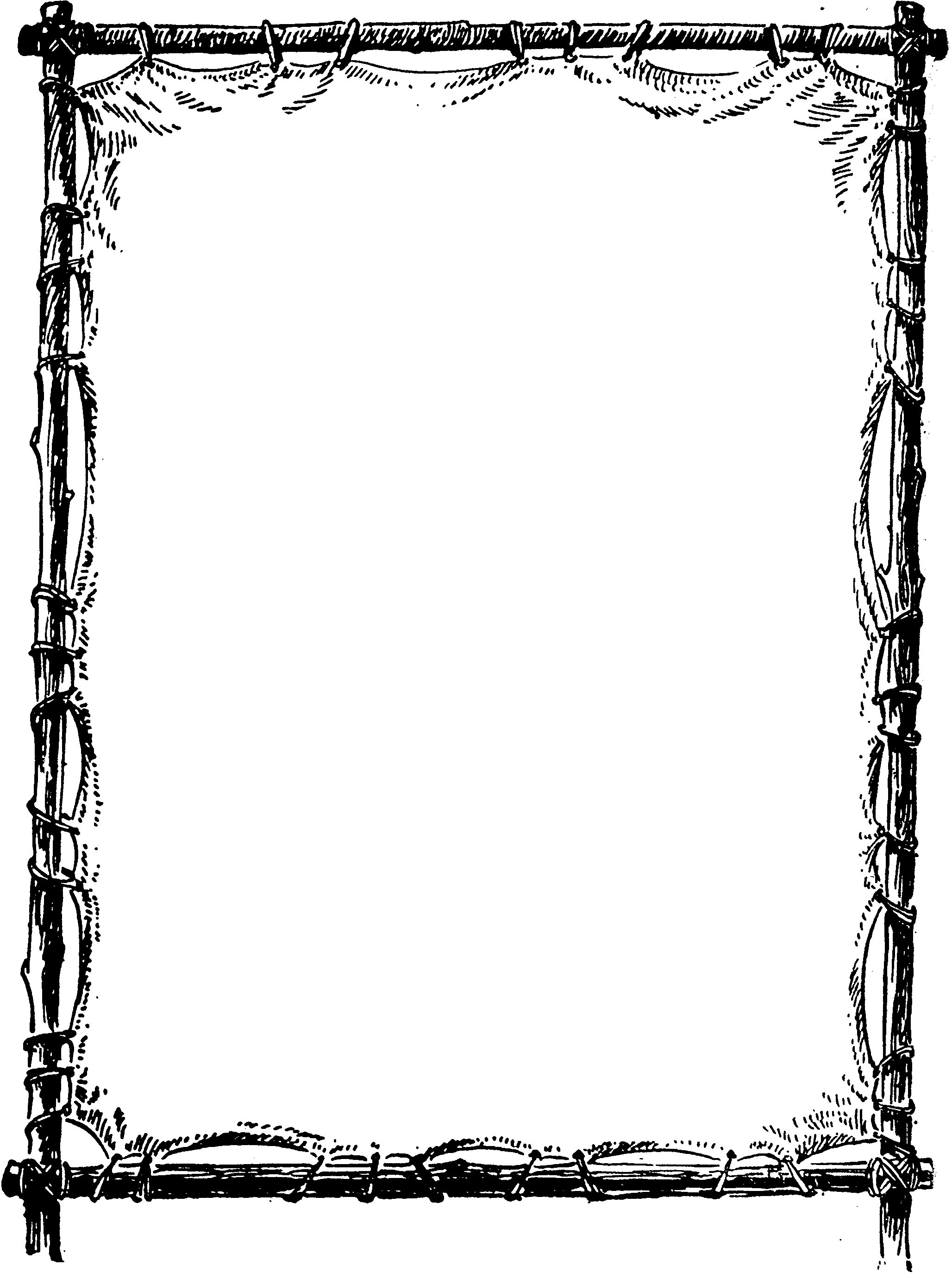 Classical clipart ms office Formal Art Page Clip Borders;