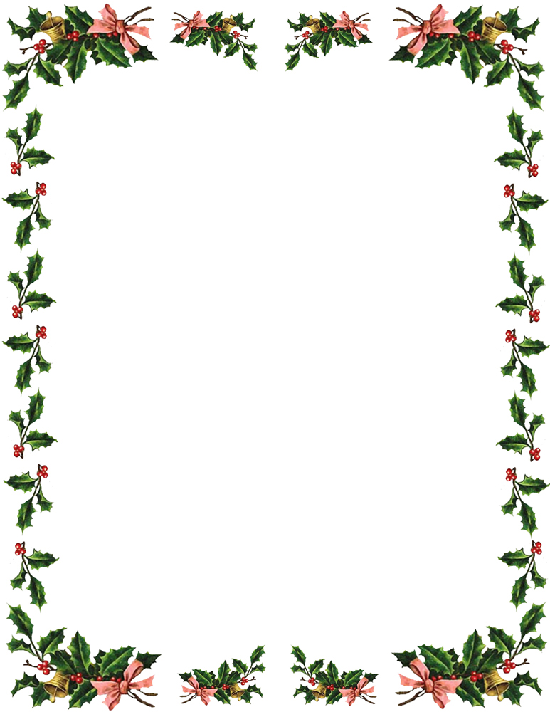 Holley clipart border And  Borders Frames And
