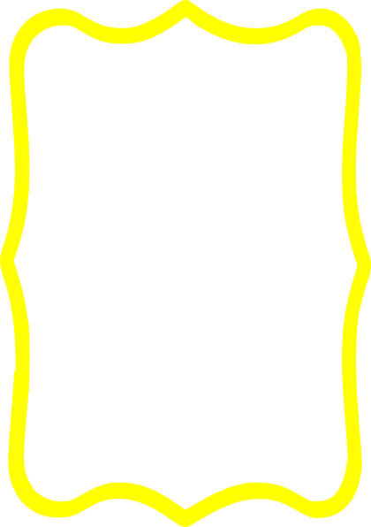 Frame clipart yellow Clip this Clker art Art