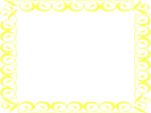 Frame clipart yellow Border yellow art about online