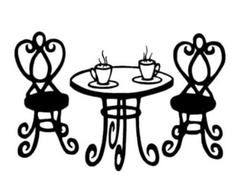 Cafeteria clipart french cafe Clipart cliparts Cafe Cafe Paris