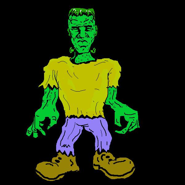 Frankenstein clipart Public Art Free Free frankenstein4