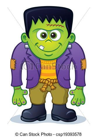 Frankenstein clipart And monster cute Cartoon Frankenstein