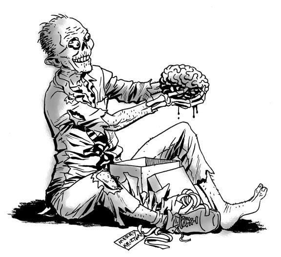 Frankenstein clipart brain Backgrounds images brain holding gift