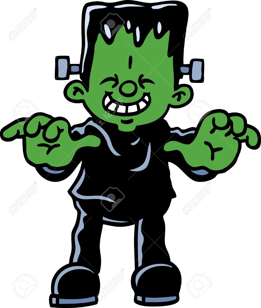 Frankenstein clipart cartoon For frankenstein Trick Google Unicef